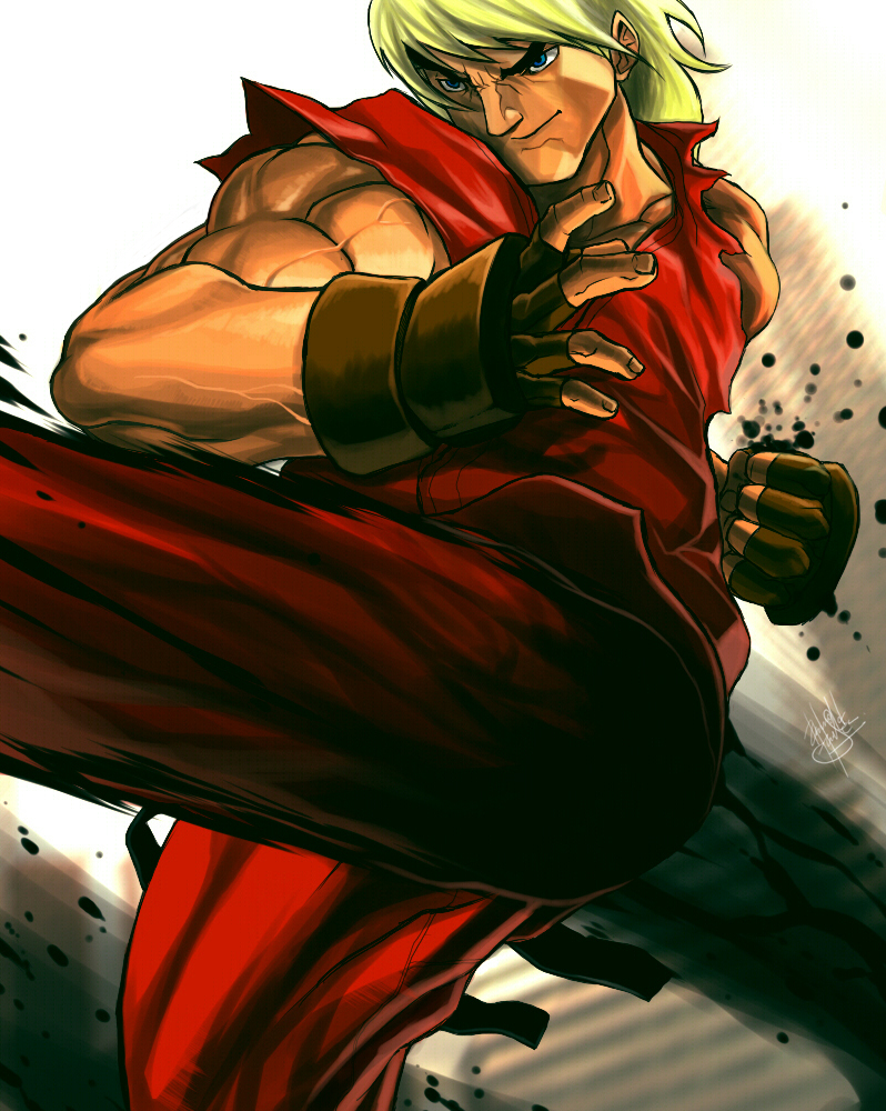Ken Masters  SF 25th Anniversary Tribute by DarroldHansen