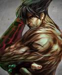 Jin Kazama by DarroldHansen