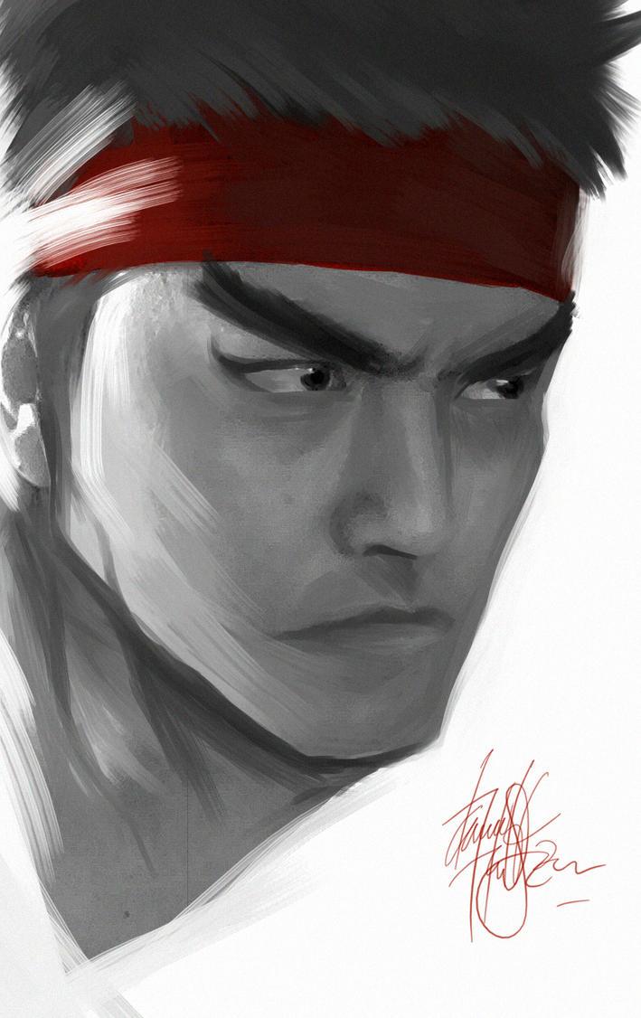 Ryu Selfie - Me as Ryu by DarroldHansen