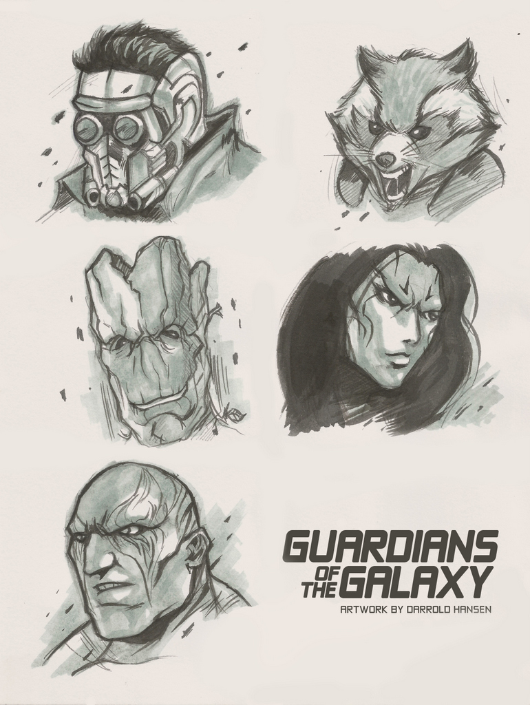 Guardians of the Galaxy by DarroldHansen
