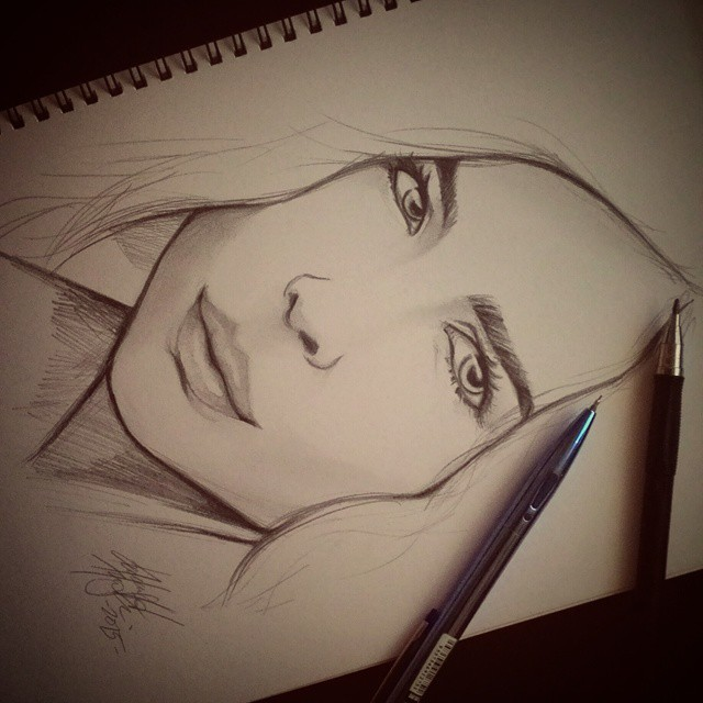 A Portrait by DarroldHansen
