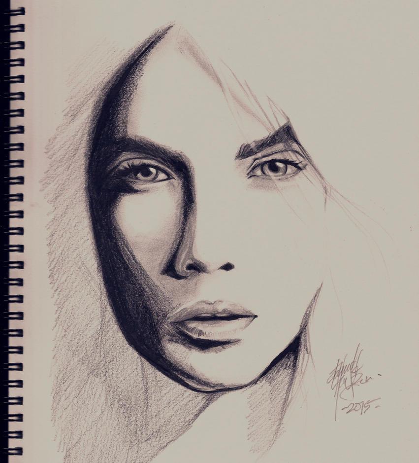 A Face by DarroldHansen