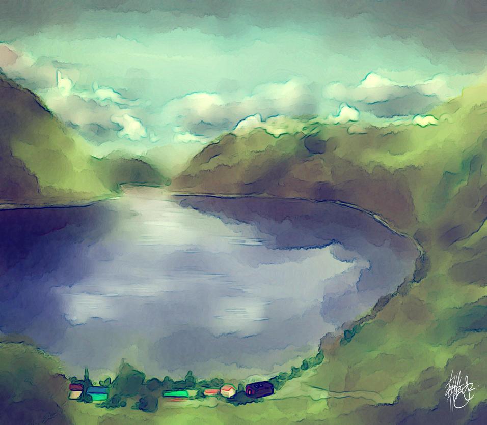 Geirangerfjord by DarroldHansen