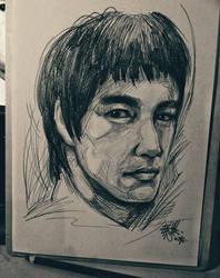 Bruce Lee by DarroldHansen
