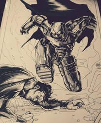 Batman V Superman by DarroldHansen