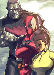 Deadpool and Friends by DarroldHansen