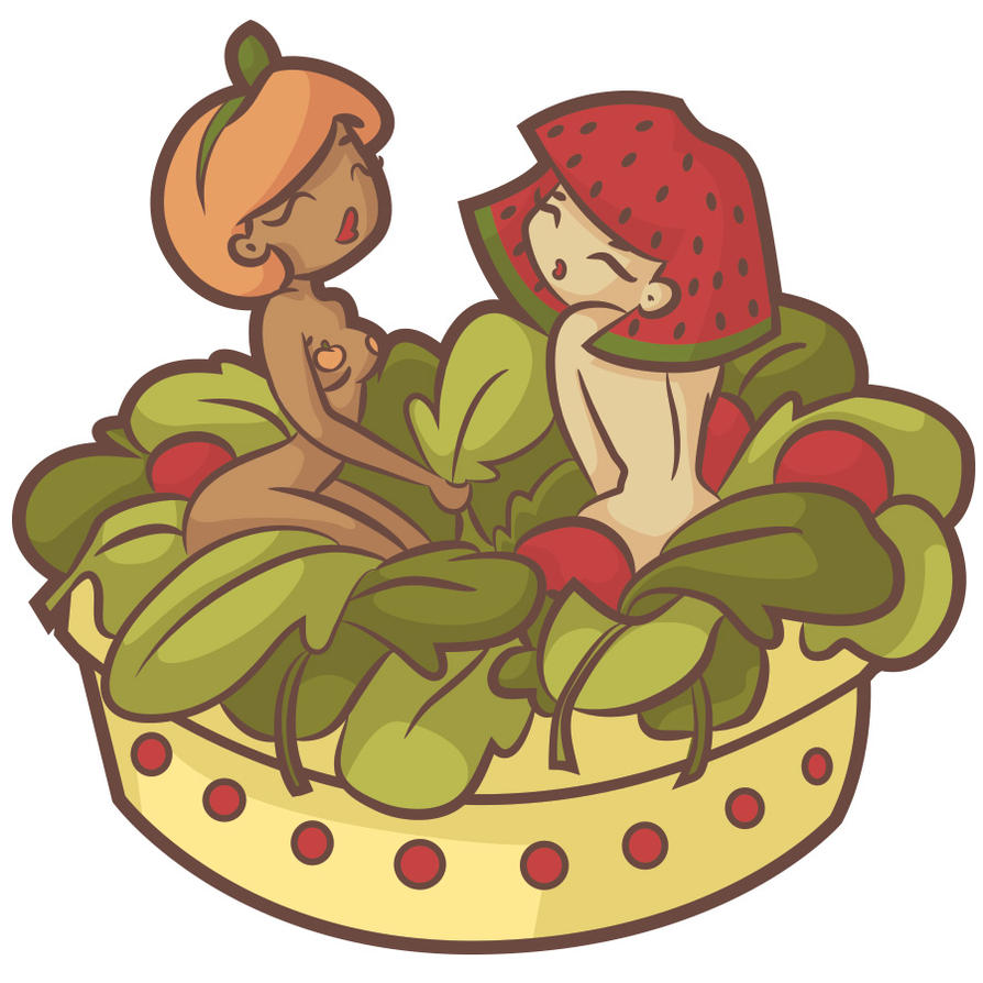 Salad Girls by KCretcher