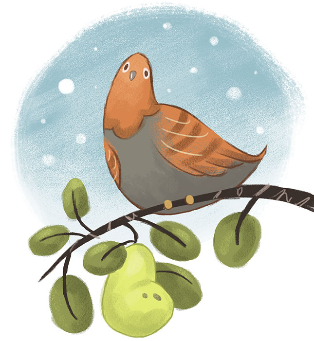 Partridge in a Pear Tree by KCretcher