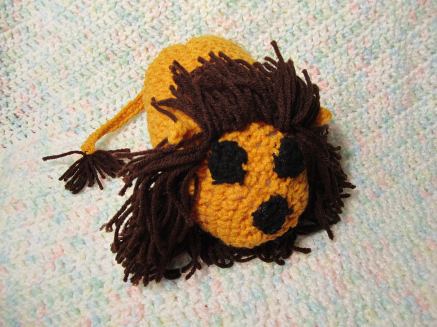 Crochet Lion Simba by jesspotter