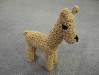 Crochet Llama by jesspotter
