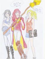 My Girls by Burdge-Bug by dannakaren