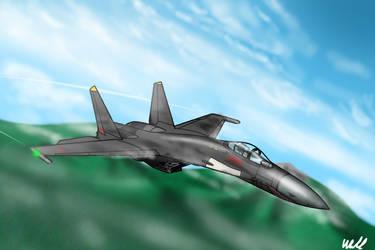 Su-35 -AKULA- by slowusaurus