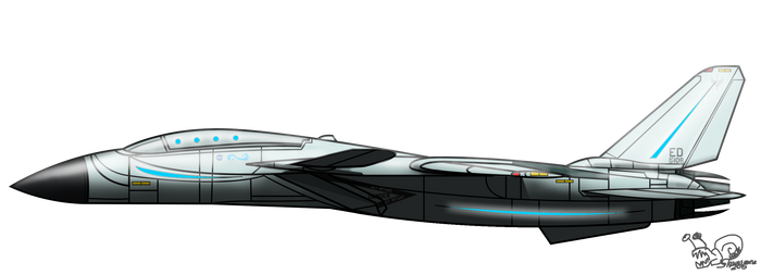 QF-14D DroneCat by slowusaurus