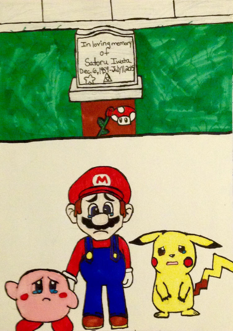 Tribute of Satoru Iwata by kmtvm123