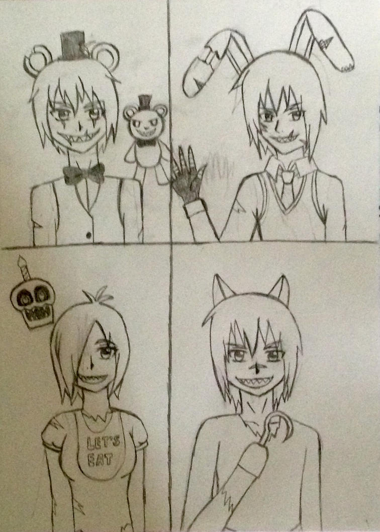 Nightmares (uncolored)  by kmtvm123