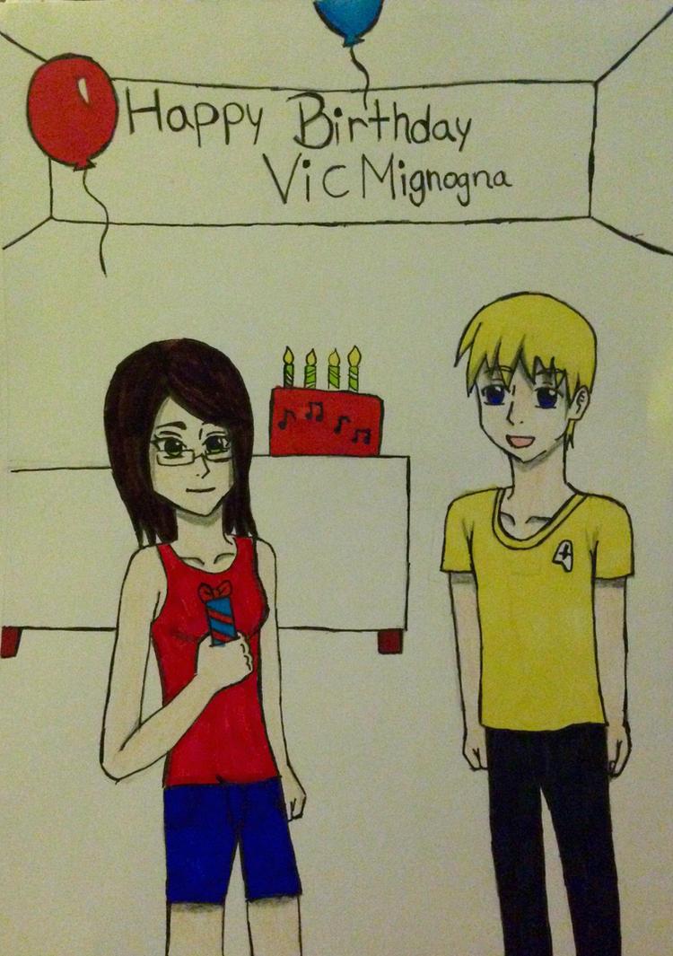 Happy Birthday Vic Mignogna by kmtvm123