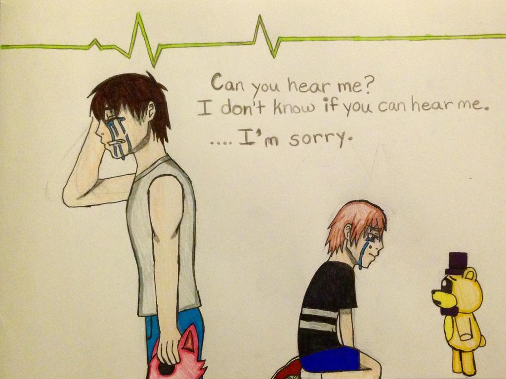 I'm Sorry - Fnaf 4  by kmtvm123