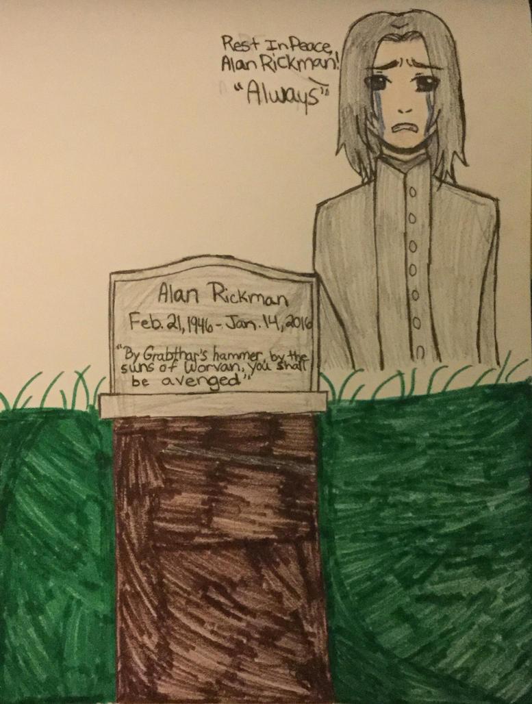 Tribute of Alan Rickman by kmtvm123