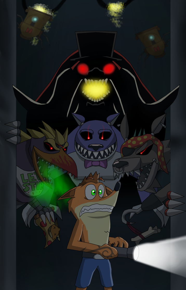 Halloween 2014-Five nights with a Bandicoot by rizegreymon22 on ...