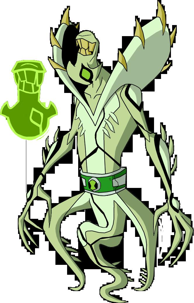 Biomnitrix Unleashed - Ghostvine by rizegreymon22