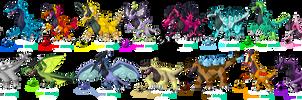 D-I-N-O-S-A-Ur a Pokemon! (Darksilvania expansion)