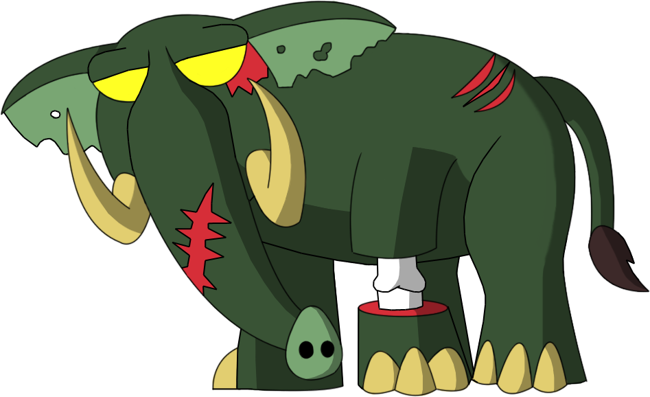 Zoombies - Hathy by rizegreymon22