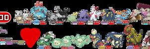 Fakemon type: Blood by rizegreymon22