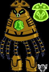 Biomnitrix Unleashed - ClockFibian by rizegreymon22