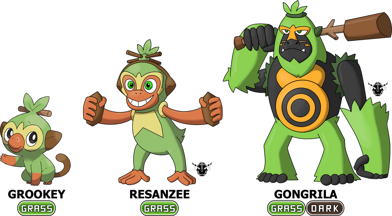 My Grookey Fake Evolutions By Rzgmon200 On Deviantart By dudebulge, posted a year ago drawer of dudes. my grookey fake evolutions by rzgmon200