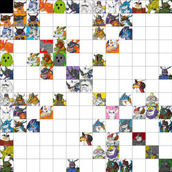 Digimon DNA Overload - Chart