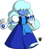 SU Crystal Star fusion - Sapphire by rizegreymon22