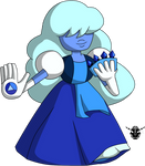 SU Crystal Star fusion - Sapphire
