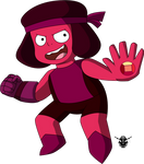 SU Crystal Star fusion - Ruby