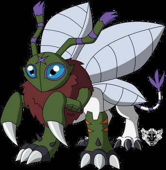 Digimon DNA Overload - Fannelmon by rizegreymon22