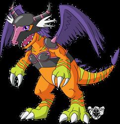 Digimon DNA Overload - Angedramon by rizegreymon22