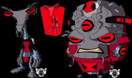 Proyect Multi-Omniverse -  Ultimate Albedo by rizegreymon22