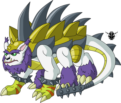 Digimon DNA Overload - Tarascamon by rizegreymon22