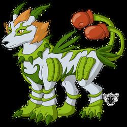 Digimon DNA Overload - Ekinoximon by rizegreymon22