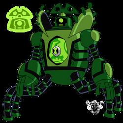 Biomnitrix Unleashed - Clockvine by rizegreymon22
