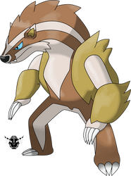 Obstagoon (National form)