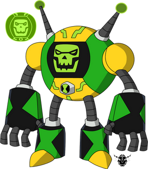 Commission - Staticbot