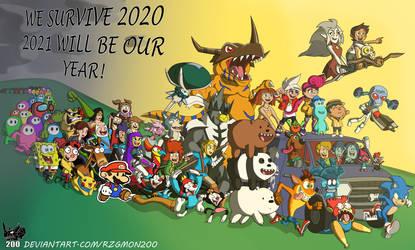 We survive 2020 by RZGmon200
