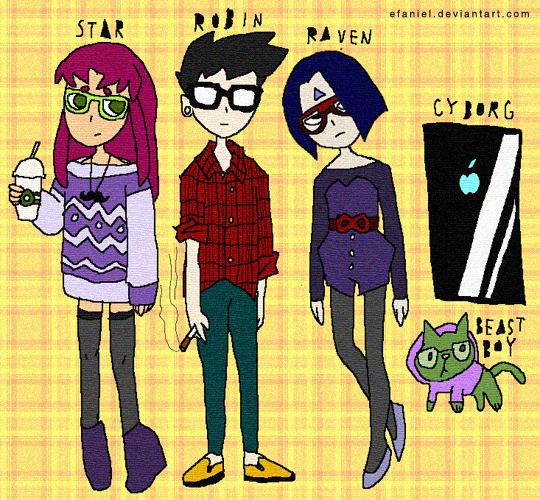 Teen Hipster 121