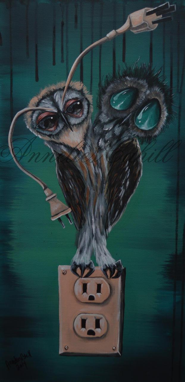 two headed owl by petmonkey202