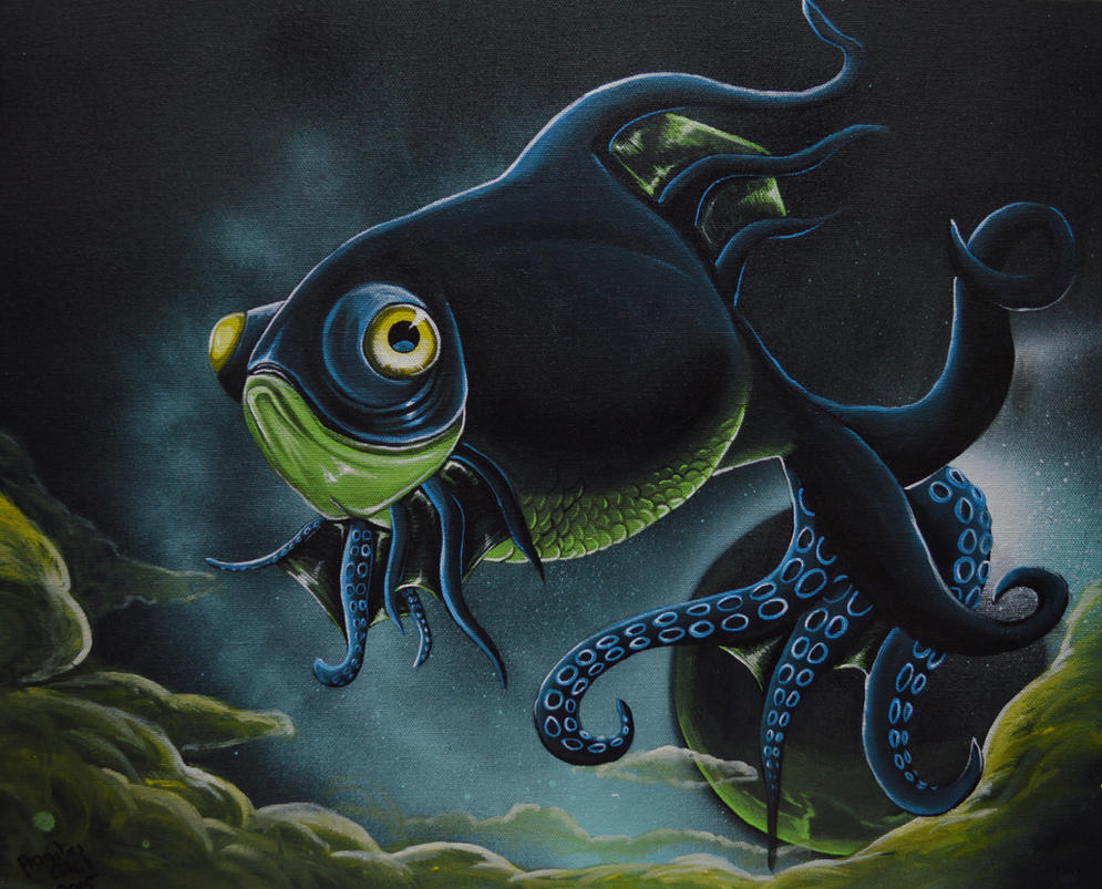Octo fish by petmonkey202