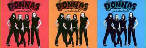 The Donnas Pop Art
