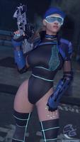 Cyberpunk Jill
