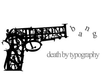 Death by Typography by GCORE
