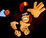 Donkey Kong playing some B-Bal