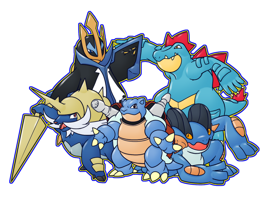 Ultimate Water Pokemons by CatchShiro